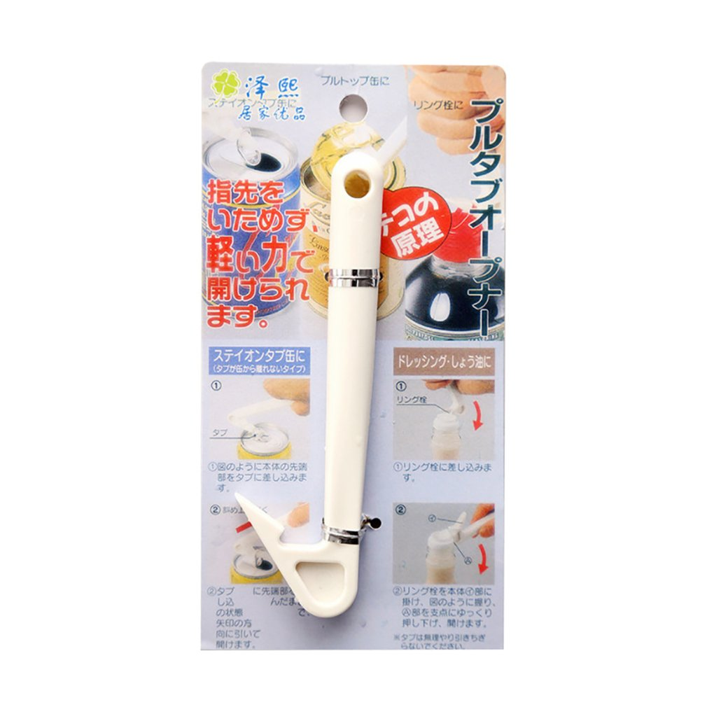 High Quality Japanese Multi-function Can Opener Can Open Can Opener Opener Oil Pull Ring Screwdriver