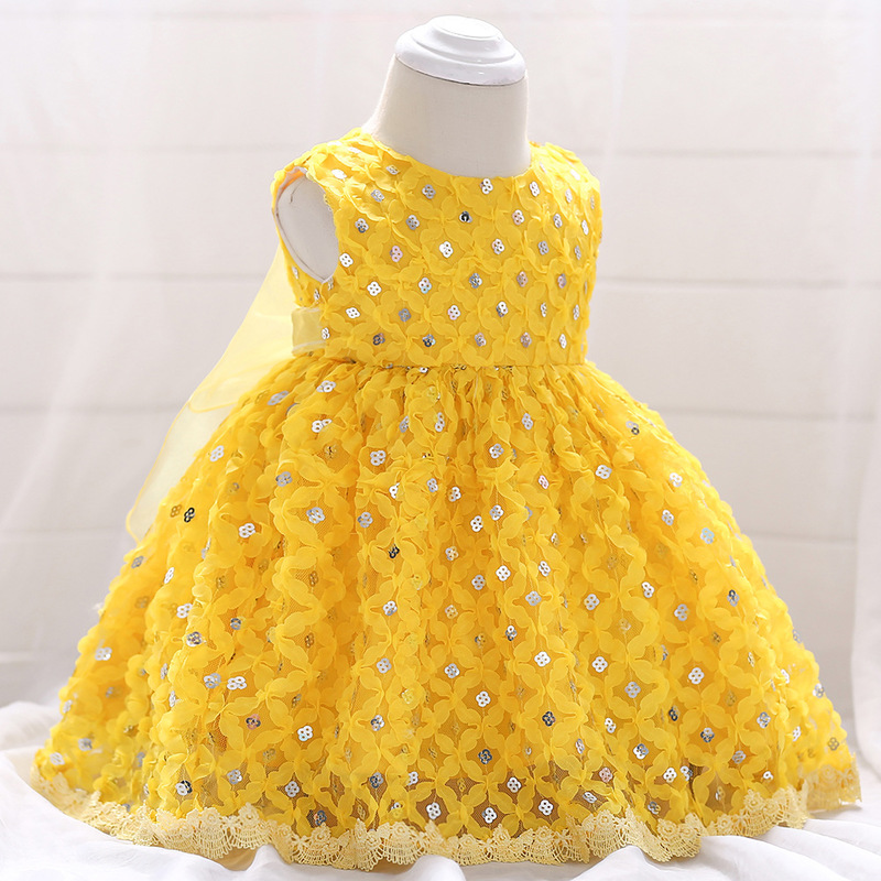 Vintage Baby Dresses 1 2 Year First Birthday Girl Party Infant Dress 2018 Newborn Wedding Baptism Christening Gown For Baby Girl (5)