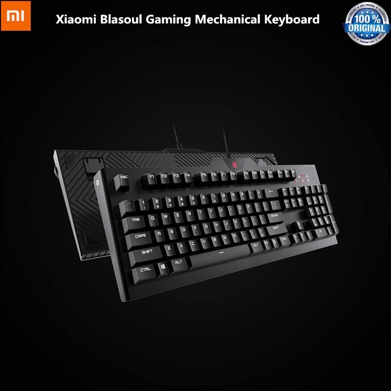 Xiaomi Youpin Blasoul Y520 Gaming Mechanical Keyboard 104 Keys 15 RGB Backlight Cherry MX Switch 1000Hz 1.8m Mechanical Keyboard