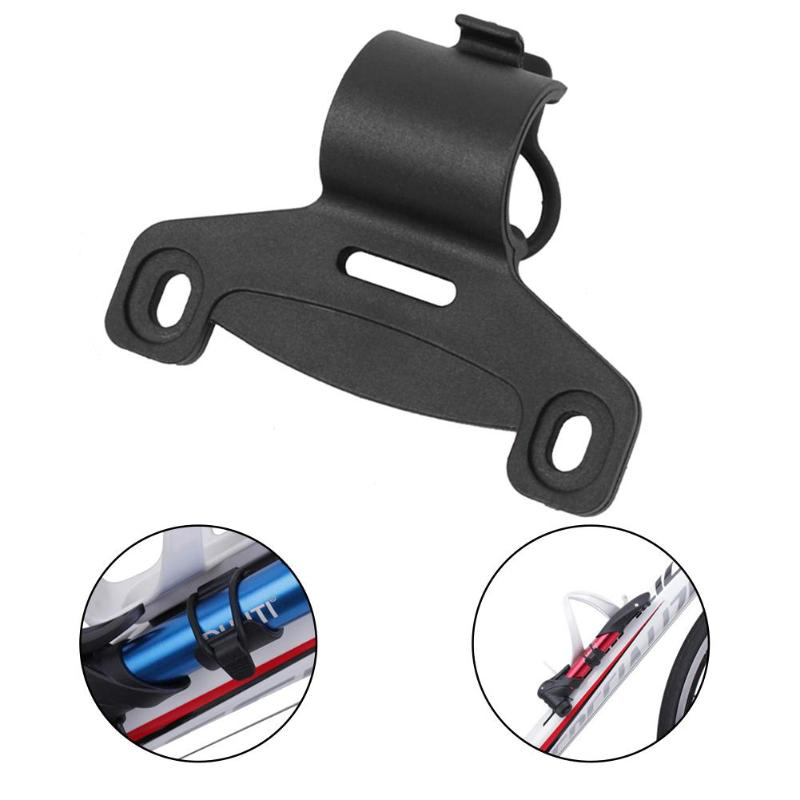 1PC Black Mini Bike Bicycle Pump Holder Portable Pump Retaining Clips Brack bh