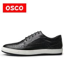 Оско из натуральной коровьей кожи зимние Для мужчин теплая Повседневная обувь теплые шерсть Casusl стиль Для мужчин зимние туфли-оксфорды # A3534