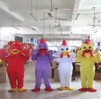 Прекрасный петух костюмы для взрослых петух комбинезон костюм талисмана животных Одежда для костюмированной игры фестиваль Косплей