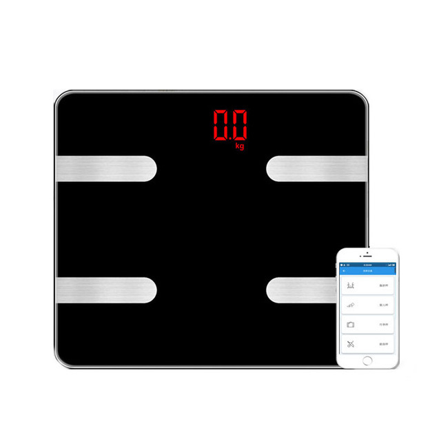 41ed7610525d US $33.88 25% OFF Hot Smart Body Weighing Scale Digital Bathroom Weight  Scale Electronic Floor Scales Bluetooth Body Fat Bmi Scale Weighting Mini  -in ...