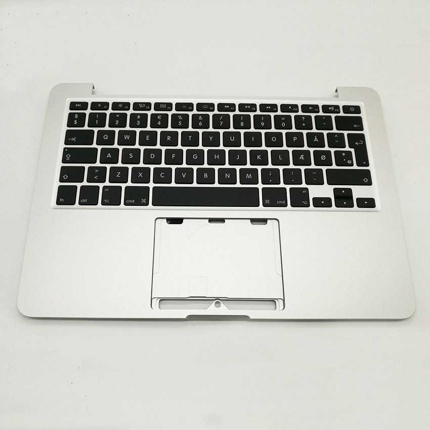 NEW Denmark Danmark Danish Topcase With Keyboard + Backlight For Macbook Pro Retina 13 A1502 2013 2014 Years new topcase with dk danmark danish keyboard for macbook air 13 3 a1466 2013 2015 years page 11