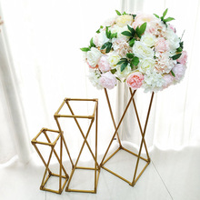 High Quality Metal Frame Flower Stand Wedding Road Cited Decorative Accessories Party Stage Background Decoration цена 2017