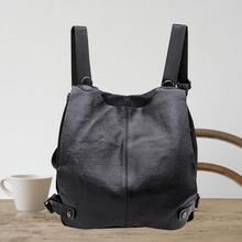 Новая сумка 102616 Женская мода из натуральной кожи рюкзак дважды сумка