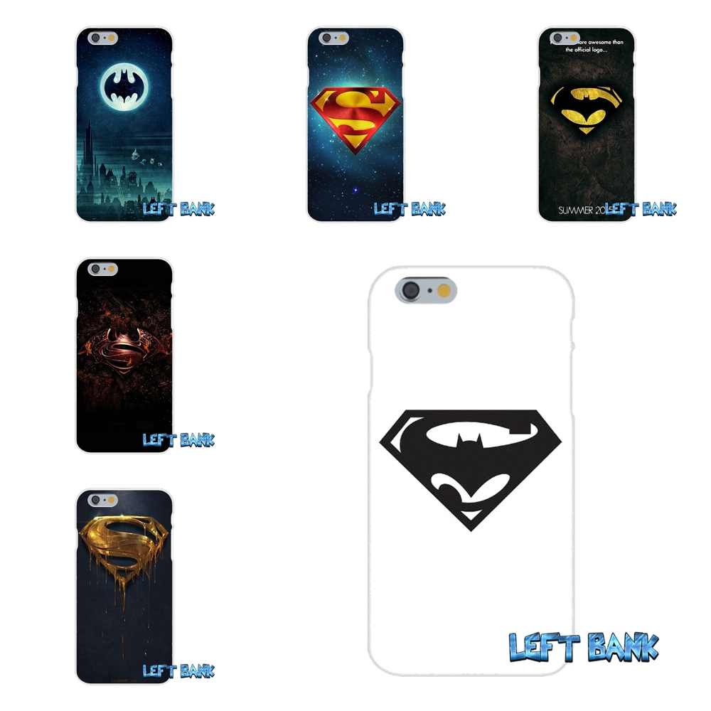 For Samsung Galaxy S3 S4 S5 MINI S6 S7 edge S8 Plus Note 2 3 4 5 Fashion Logo Batman vs Superman Soft Phone Case Silicone