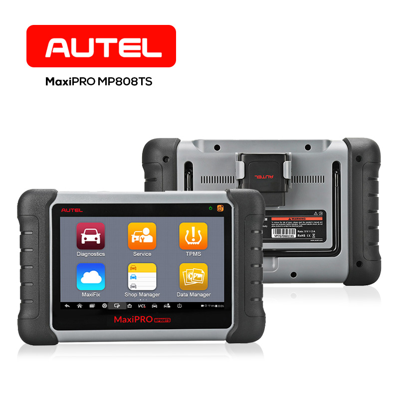 Autel MP808TS Full TPMS Diagnostic Tool Auto 7 inch Touch Screen Wireless OBD II Relearn ...