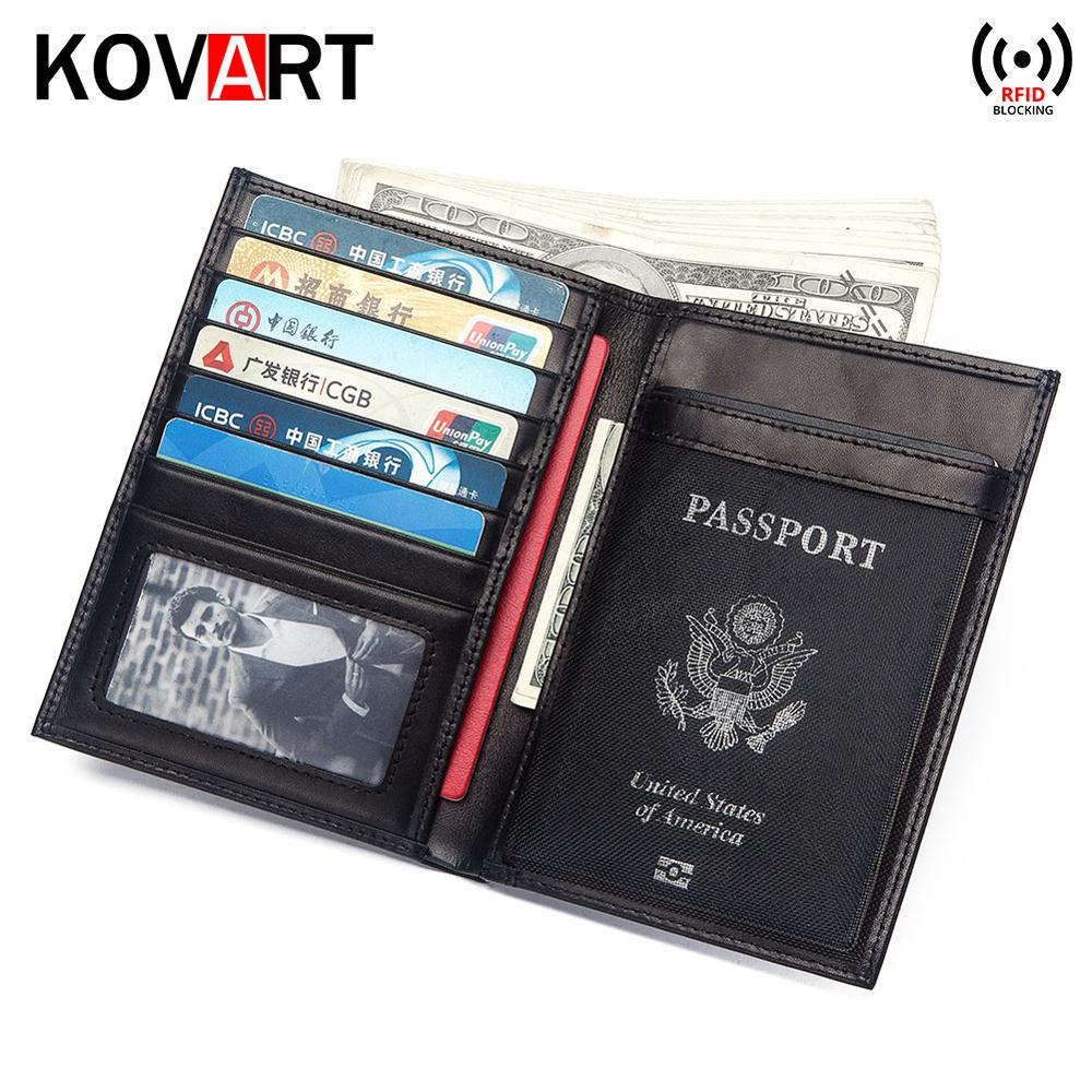 Multifunctional Rfid Blocking Genuine Leather Passport Cover Leather Wallet Fashion Card Holder Passport Holder Case Money BagMultifunctional Rfid Blocking Genuine Leather Passport Cover Leather Wallet Fashion Card Holder Passport Holder Case Money Bag