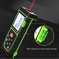 Ручной лазерный дальномер 40 м  измерительный прибор на батарейках  электронная линейка  лазерный дальномер