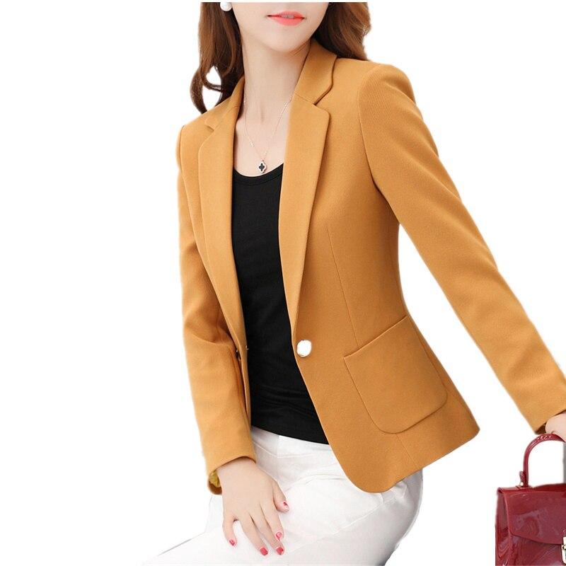 בתוספת גודל 4XL נשים חדש האביב בליזר נשי מקטורן חליפה קטנה בלייזר Feminino Blaser אופנה בלייזר Mujer Chaqueta Mujer C3893