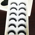 30Pair Women Semi-Handmade Long Natural False Eyelashes Thick Fake Eyelashes Eye Lashes Makeup Eyelash Extension