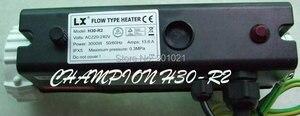 Image 3 - Китайский спа нагреватель 3 кВт l образная модель H30 R2 LX flow type hot tub спа