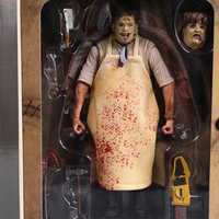 NECA 7 18cm The Texas Chainsaw MASSACRE PVC Action Figure Collectible Model Toy
