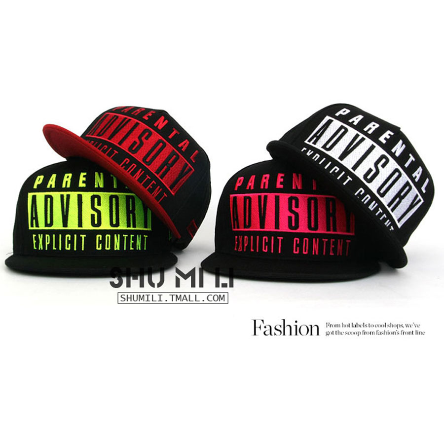 1f50a67555e UNISEX MENS WOMENS BOYS GIRLS ADVISORY HIP-HOP SNAPBACK FLAT BRIM SWAG HAT  BASEBALL COTTON CAP TRUCKER HATS