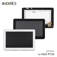 For ASUS Transformer Pad TF103 TF103CG K018 LCD Display Touch Screen Digitizer Sensor Matrix Panel Assembly With Frame Parts