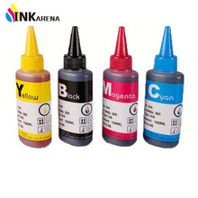 4 Bottle Universal 4 Color Dye Ink For HP 4 Color 100ML for HP Premium Dye Ink General for HP920 364 etc Printer ink all models