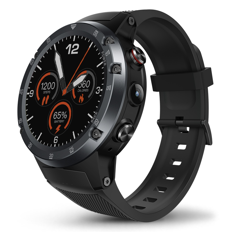 4G Wifi GPS Smart Watch Zeblaze THOR 4 Plus SIM 1GB+16GB 5.0MP Camera SmartWatches  Android 7.1 MTK6739 QuadCore Wristwatch 2019 (1)