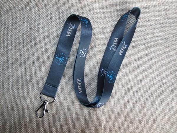 Cartoon 1PCS Zelda Neck Strap Lanyard Mobile Phone Charms Key Chain ID Badge Key Chains LS18
