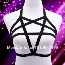 Pentagram гот связывание кейдж пастель жгут harajuku женское ремни сексуальное новая