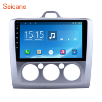 Seicane 2din Android 7.1/8.1 9 Car Multimedia Player Radio GPS Navigation for 2004 2005 2006 2011 Ford Focus Exi MT with WIFI
