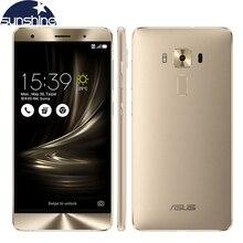 Оригинальный Asus Zenfone 3 Deluxe ZS550KL 4 Г LTE Мобильный телефон 5.5 »Octa Ядро 4 Г RAM 64 Г ROM 16.0MP Отпечатков Пальцев, Смарт-телефон