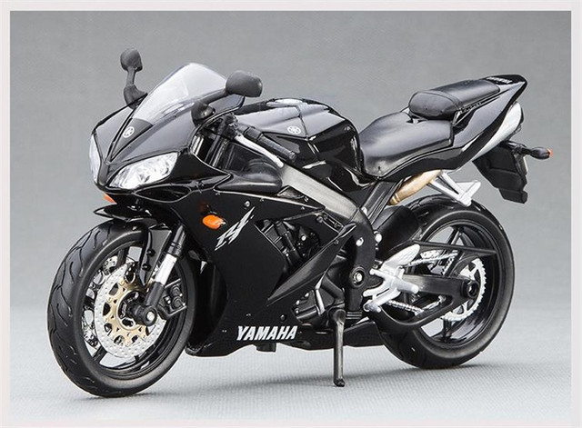 Maisto 1/12 YAMAHA YZF-R1 Diecast Motorcycle Model Black Color STREET GLIDE MOTORCYCLE Model Collection Kids Gifts