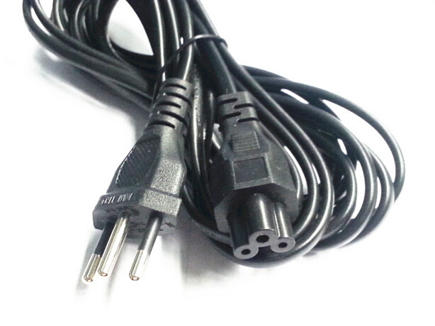 6ft 1.8m Original Brazil plug Br AC power cable cord for laptop adapter monitor Free Shipping buy monitor power cord