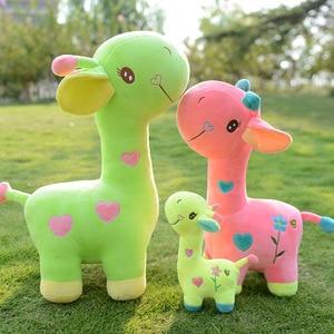 Image 2 - Lalka żyrafa pluszowa zabawka jeleń poduszka poduszka dziecięca