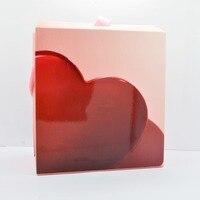 Großhandel 10 Stücke Europa marke Hochwertige Rosa rot candy stil Papiergeschenkbeutel Original Pan Schmuck Box Verpackungsbeutel Shop