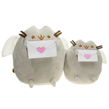 Kawaii Brinquedos Cat Sushi Angel Cookie Potato chips Doughnut Stuffed & Plush Animals Cute Pussy Christmas Gift Toys for Girls