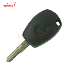 Hot sale high quality 2 button 433Mhz 434Mhz VAC102/NE73 for Renault Clio Modus Kangoo remote key case replacement key shell whatskey 1 button remote car key shell fob case cover for renault twingo clio master scenic kangoo vac102 blade replacement