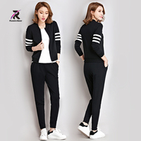 Women Clothes New Yoga Sets Autumn Winter Run Sportswear 2 Piece Sets Women Warm Sports Suits
