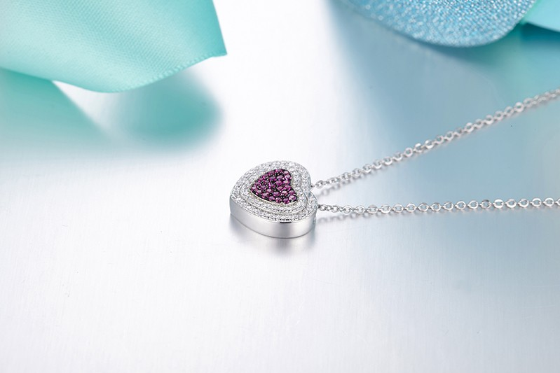 heart shape pendant necklace for special peopleDP14020A (5)