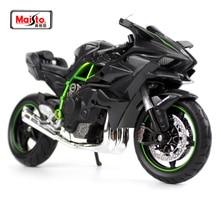 Maisto 1:12 Kawasaki Ninja H2R H2 R Motorcycle Diecast Metal Bike Model Free Shipping TOY NEW IN BOX 16880 maisto 1 18 honda africa twin dct crf1000l motorcycle bike diecast model toy new in box