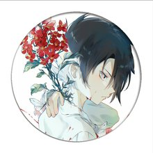Anime chaud le pays promis Emma Cosplay Badges broche normande broches icône Ray Collection broche pour sac vêtements
