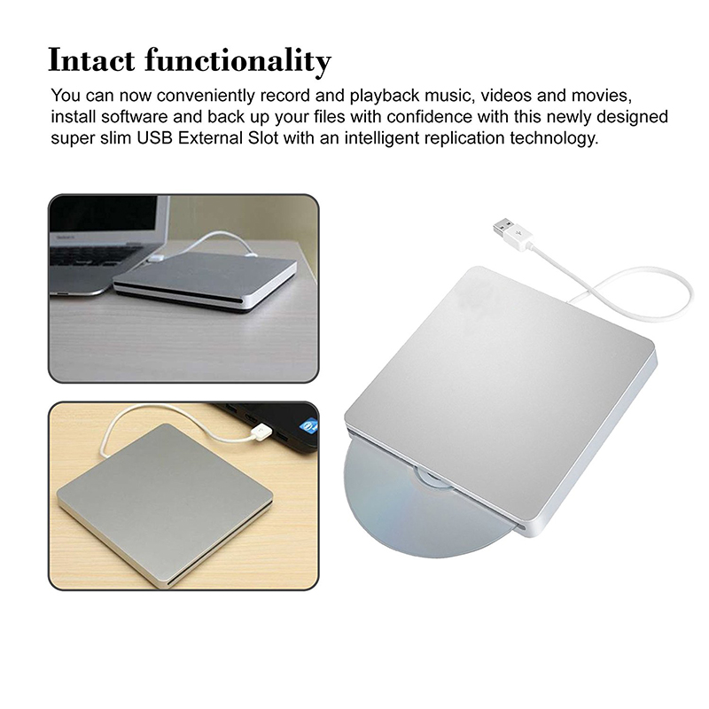 Se envía desde Europa USB 3.0 Blu-ray BD-RW Reproductor Ranura Carga - Componentes informáticos - foto 4