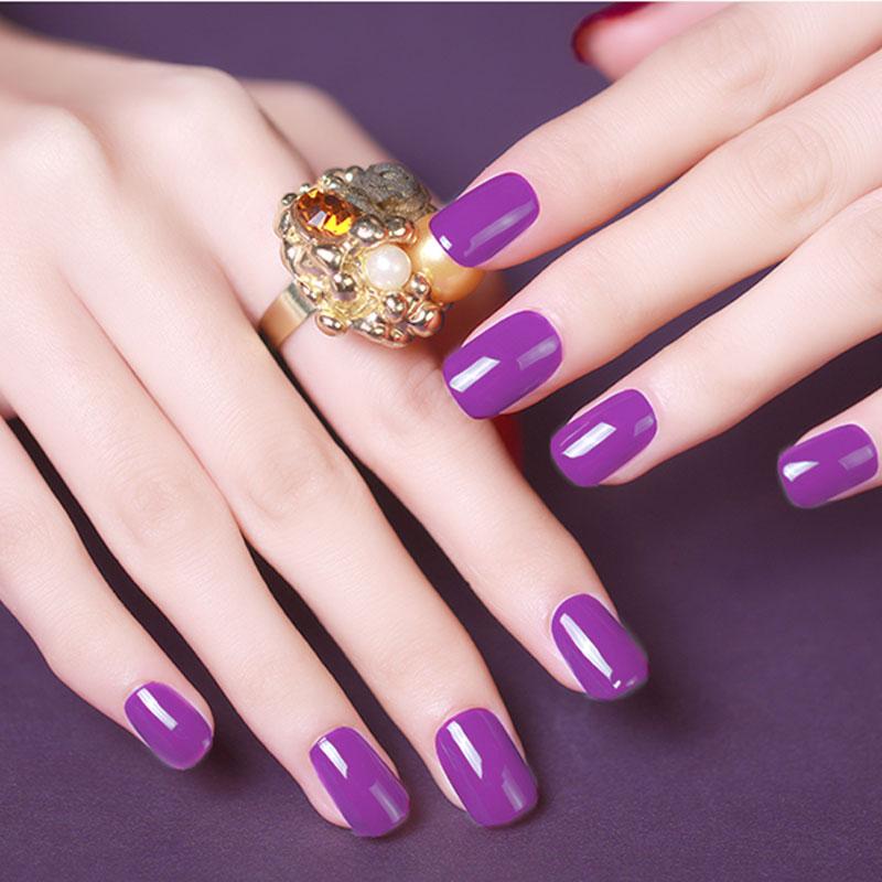 Gel Nail Polish Varnish Fresh Color Vernis Semi Permanent Primer Manicure for Nail Art Soak Off UV White Hybrid Gel Nail Polish