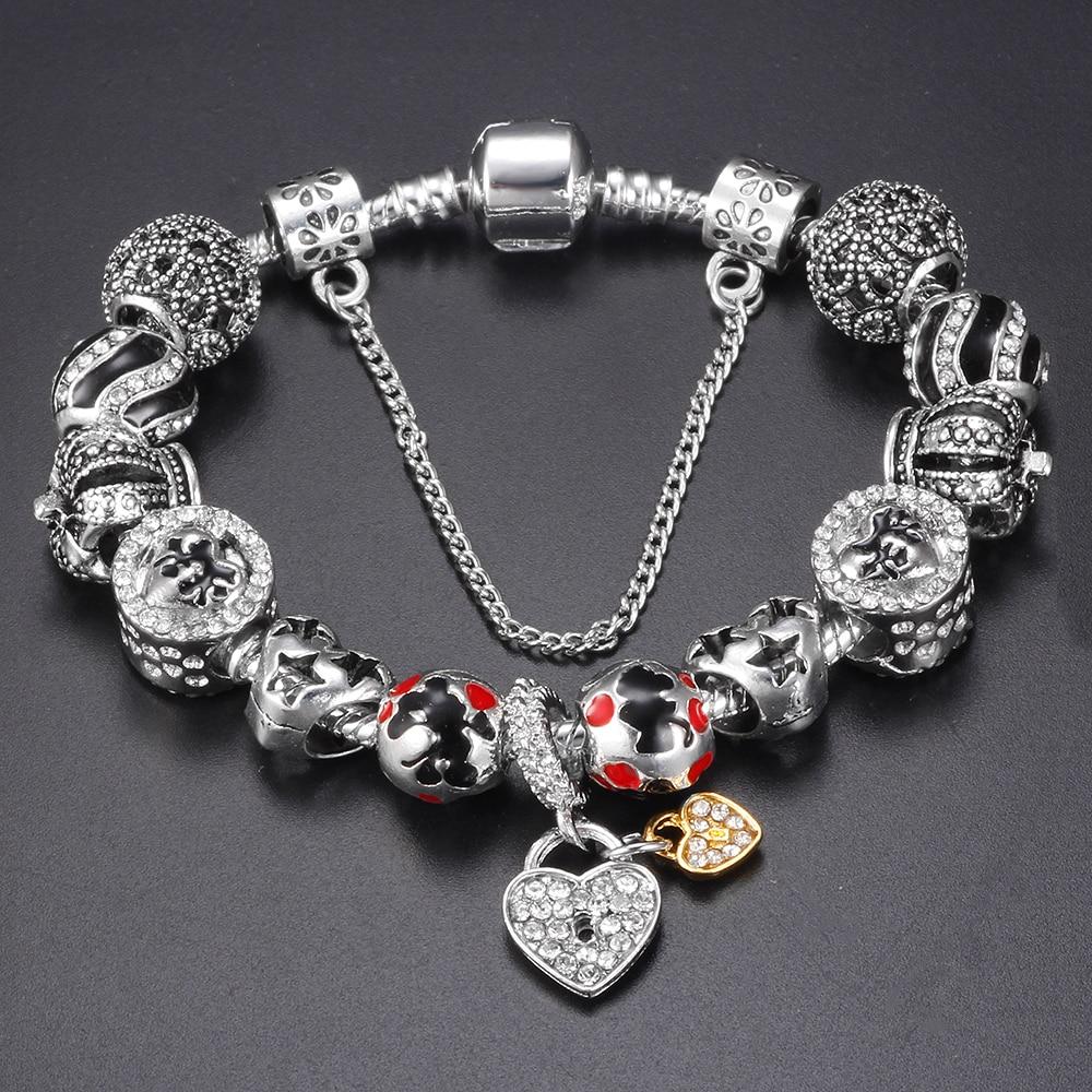 Inexpensive Charm Bracelets: Popular Pandora Bracelet-Buy Cheap Pandora Bracelet Lots