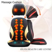 Cervical Massage Device Neck Massage Pad Full Body Multifunctional Pillow Massage Chair Cushion Household