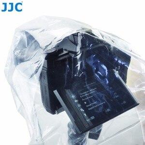 Image 2 - JJC 2 шт. водонепроницаемый чехол для объектива DSLR, защитный чехол от дождя, беззеркальных камер, дождевик для Canon, Nikon, Sony, Fuji, Panasonic, прозрачный