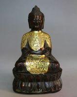Tibetan Tibet Buddhism Copper Sakyamuni Tantra Buddha Tathagata Statue