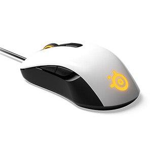 Image 2 - SteelseriesのRIVAL106ゲームマウス有線マウスミラーrgbバック光電ゲーミングマウス笑cf