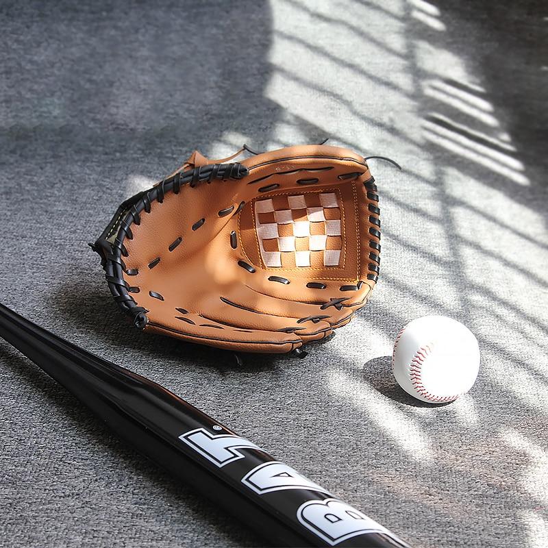 Baseball Gloves New Portable Dark Brown Durable Men Softball Baseball Glove Sports Player Preferred 12.5/11.5/10.5 Inch