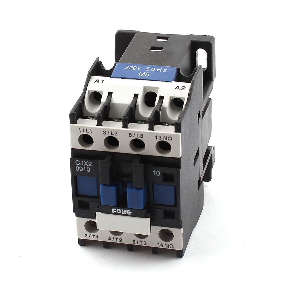 Cjx2-1210 Ac220v 35Mm Din Rail 11 Screw Terminals 3 Poles Normal Open Electric Power Contactor Motor Starter Relay палатка normal виктория 3