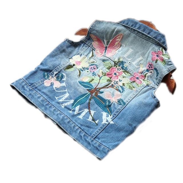 6e5352389 2018 Children clothing autumn baby girls fashion vest jackets ...