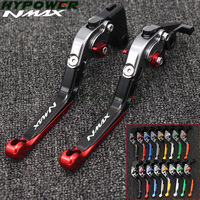 For YAMAHA NMAX 155 125 NMAX155 NMAX125 N MAX 155 125 2015 2019 Motorcycle Accessories Folding Extendable Brake Clutch Levers