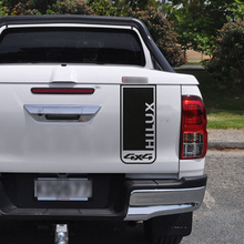 free shipping 1PC back door  graphic Vinyl 4X4 car sticker for TOYOTA HILUX revo or vigo