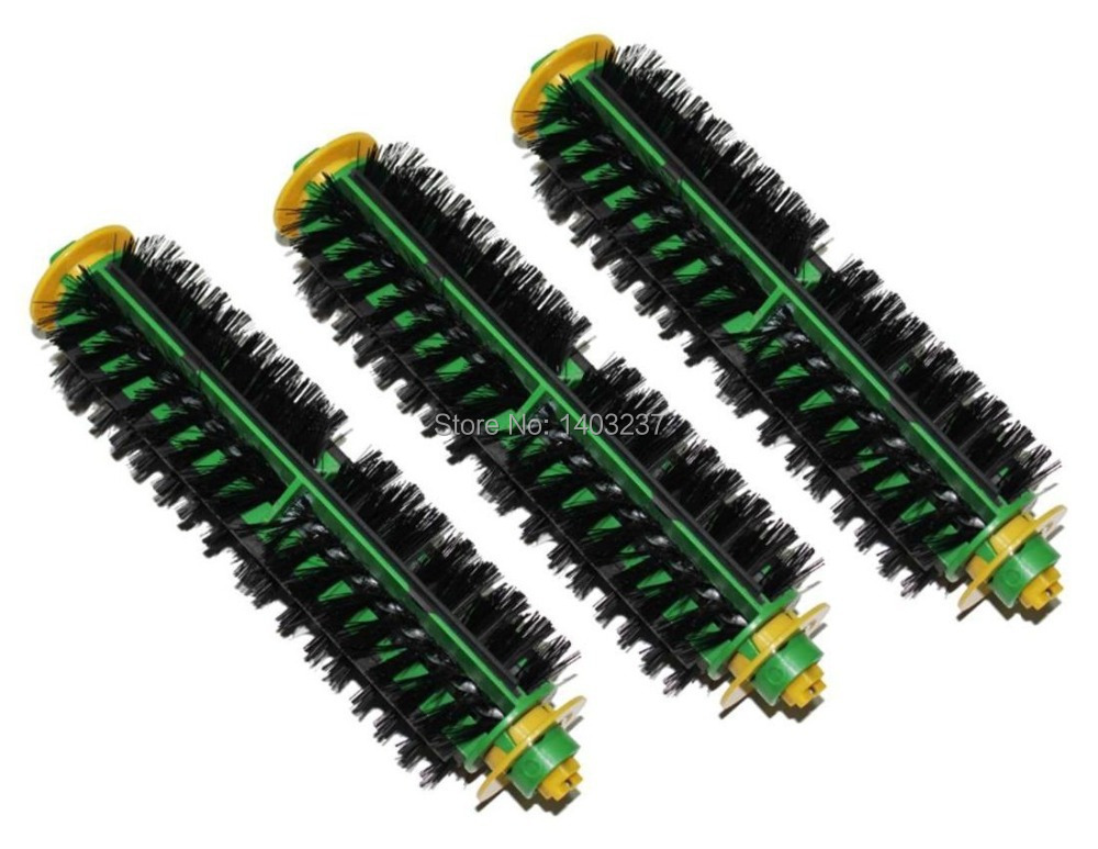 3 Bristle Brush for iRobot Roomba 500 Series 510, 530, 535, 540, 550, 560, 570, 580 Vacuum Cleaning Robotic Accessory Kit 3 bristle brush for irobot roomba 500 series 510 530 535 540 550 560 570 580 vacuum cleaning robotic accessory kit