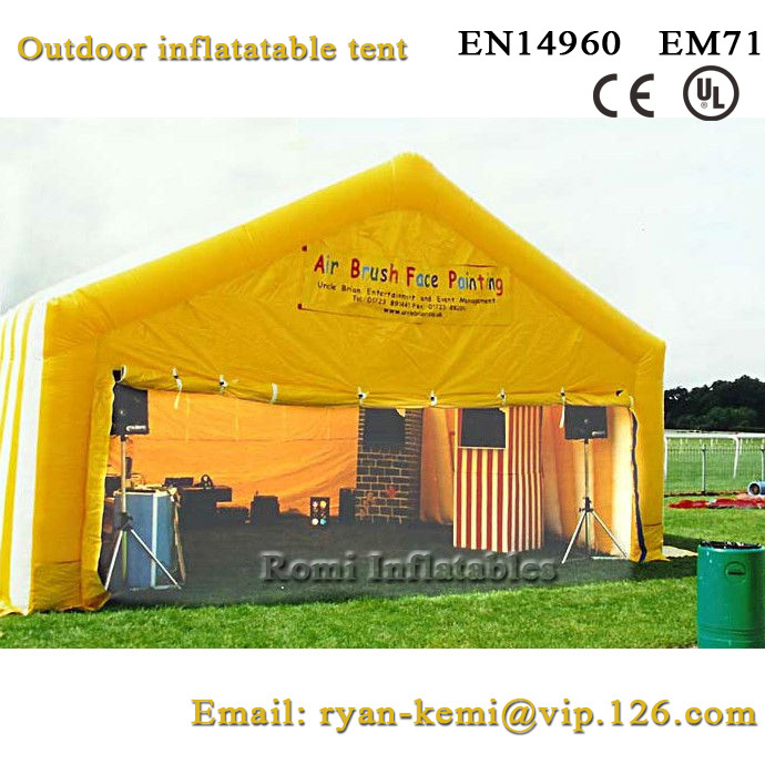 Free shipping outdoor inflatable tent inflatable events tent large inflatable advertising tent free shipping inflatable house shaped cube tent with window for events toy tent